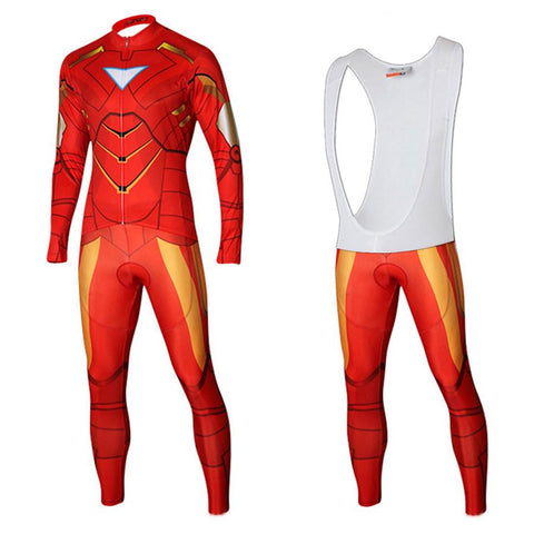 Iron Man Long Sleeve Cycling Kit