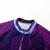 Abstract Purple Wave Jersey