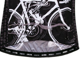 Cycling Hard Black Long Sleeve Jersey