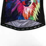 Colorful Wolf Long Sleeve Jersey