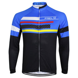 Argus Blue Long Sleeve Jersey