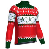 Christmas Tree Men's Long Sleeve Jersey