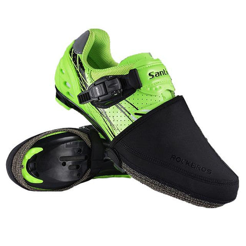 Black Half Cycling Shoe Covers