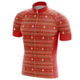 Christmas Tree and Deer Cycling Jersey