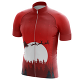 Christmas Night Cycling Jersey