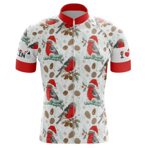 Christmas Birds Men's Cycling Jersey