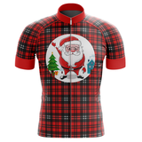 Santa Claus is Coming Red Cycling Jersey