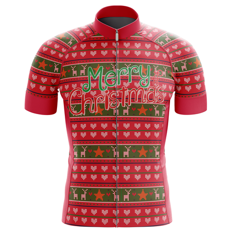 Merry Christmas Ride Men's Cycling Jersey