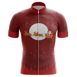 Christmas Eve Ride Men's Cycling Jersey