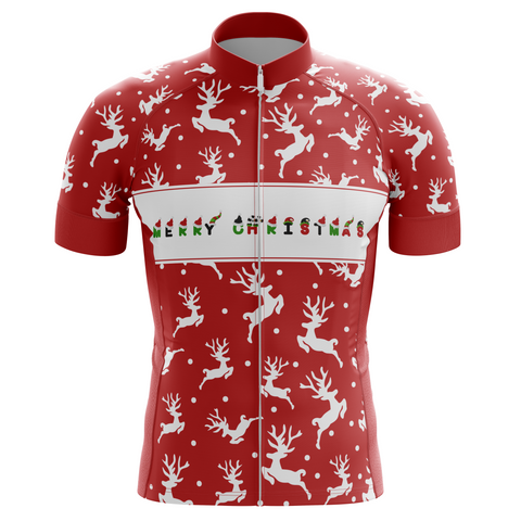 Christmas Deer Cycling Jersey
