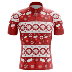 Christmas Gifts Men's Cycling Jersey