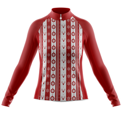 Happy Christmas Red Women's Long Sleeve Jersey