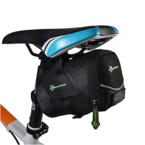 Bike Black Saddle Bag
