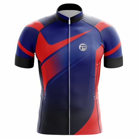 Rush out Blue Frelsi Cycling Jersey