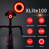 Brake Warning Bike Rear Light