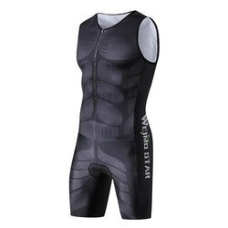 One Piece Compression Cycling Jersey