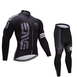 2019 ENVE Men's Team Cycling Long Sleeve Jersey Set