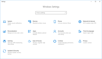 How to edit and personalise settings in Windows 10