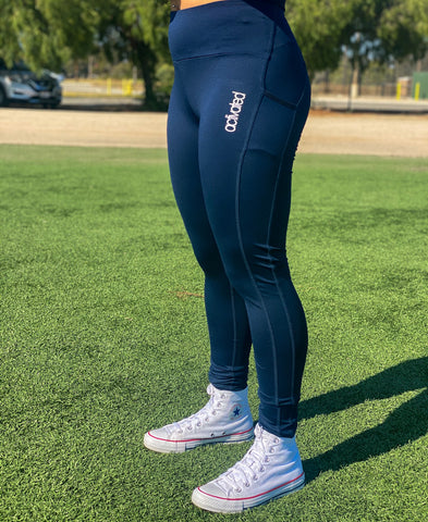 ACTIVATED FLEX LEGGINGS - NAVY