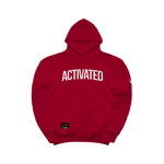ACTIVATED HOODIE - RED