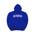 ACTIVATED HOODIE - BLUE