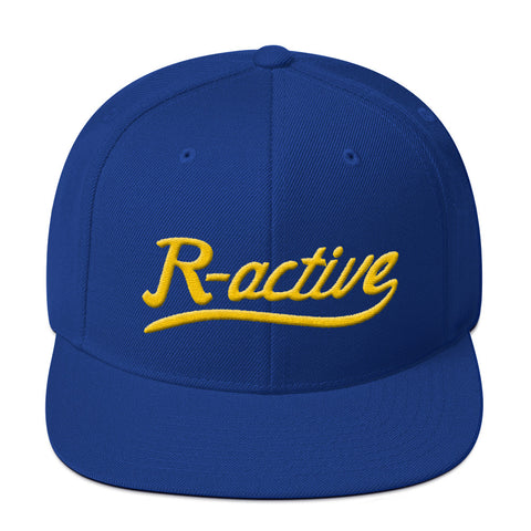 Crenshaw High Inspired Snapback - Royal Blue