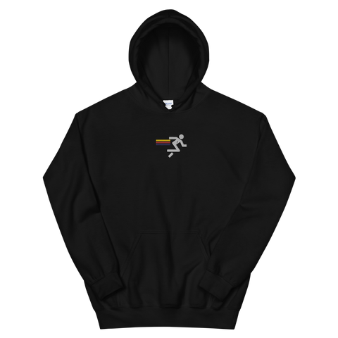 EMBROIDERED RUN CLUB HOODIE
