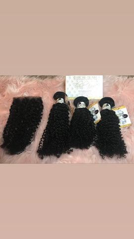 Kinky curly Bundle Deals - Chichi Glam Extend Hair