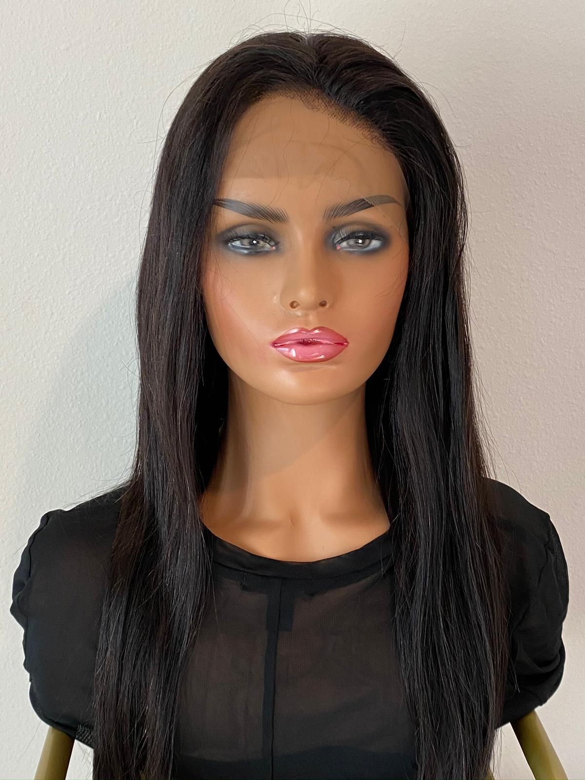 Straight hair | Lace frontal