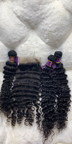 Dejavu Deep Wave Bundle with Closure by ChichiGlam All in one
