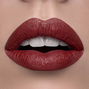 Kiss Red Shiny Lipstick by ChichiGlam