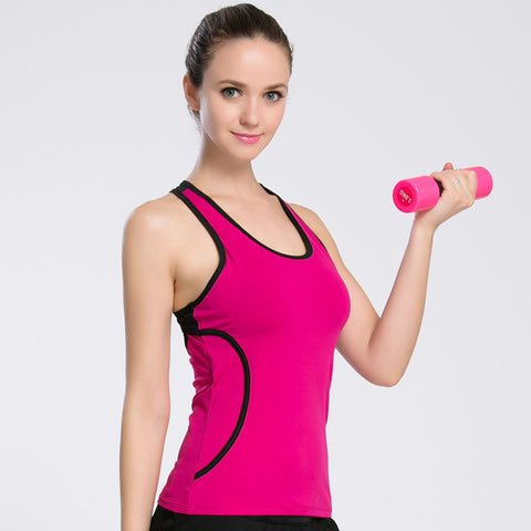 Women's Hollow Out Back Quick Drying Breathable Tank Top
