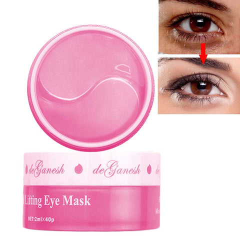 Rose Collagen Crystal Eye Mask Gel Patches (25 Pack)
