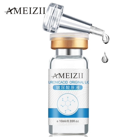 AMEIZII Pure Hyaluronic Acid Liquid Skin care Moisturizing Snail Repair