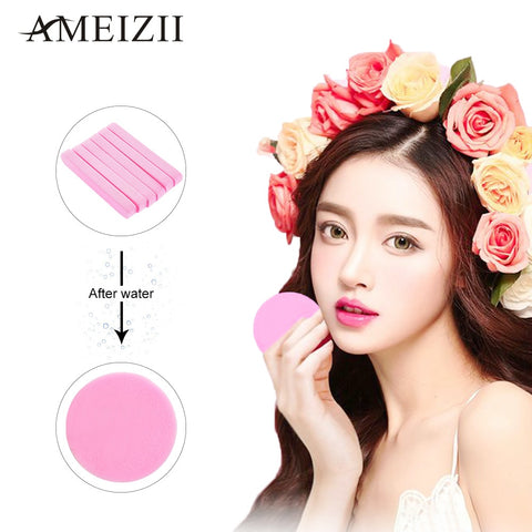 AMEIZII 12 Pack Cosmetic Puff Facial Cleanser Sponges