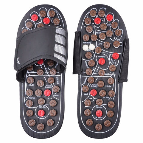 Foot Reflexology Acupressure Massage Slippers