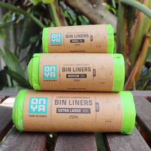 Compostable Bin Liners (25 Bags)
