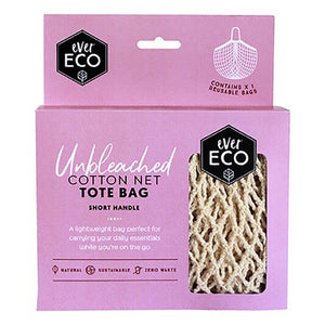 Ever Eco Short Handle Cotton Tote Bag