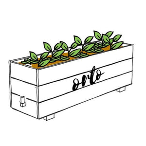 Life Wild - Orto Urban Gardens Self-Watering Planter Box