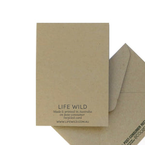 Life Wild | 100% Recycled Greeting Card