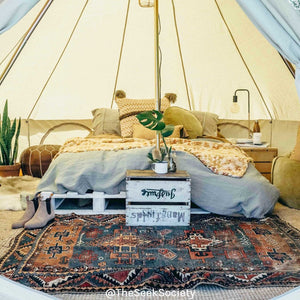 Life Wild | The Londonderry 4m Bell Tent, The Seek Society