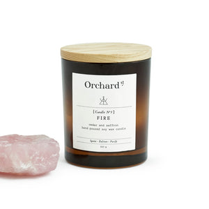 Life Wild - Orchard St Fire Candle