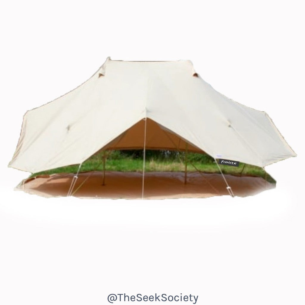6ab911538 Life Wild | The Pioneer 6m Bell Tent, The Seek Society