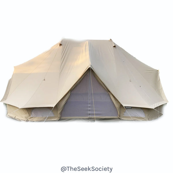 Life Wild | The Pioneer 6m Bell Tent, The Seek Society