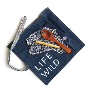 Life Wild | Little Dreamer Circular Cutlery Set with Bamboo Straw