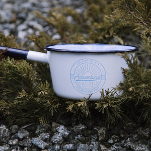 Life Wild | Enamel Adventure Saucepan, The Seek Society