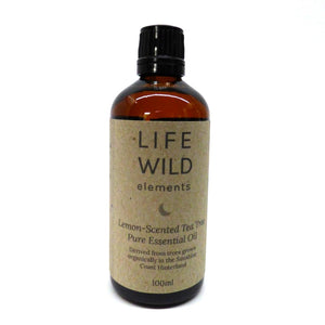 Life Wild | Lemon-Scented Tea Tree Pure Essential Oil