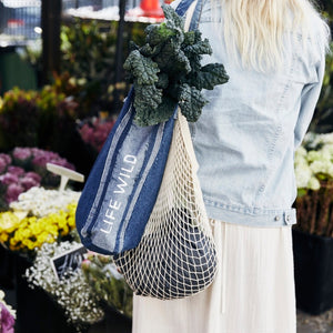 Life Wild | Cotton String Shopper Bag