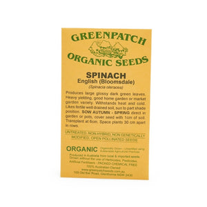 Life Wild | Australian Organic Seed Green Goodness Trio - Spinach