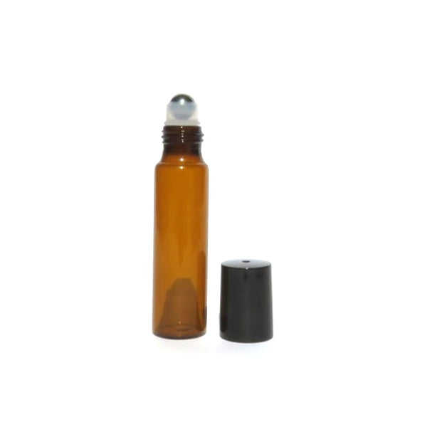 Life Wild | Amber Glass Roll On Bottle - 15ml